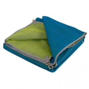Sandless Quick Sand Beach Mat Blue