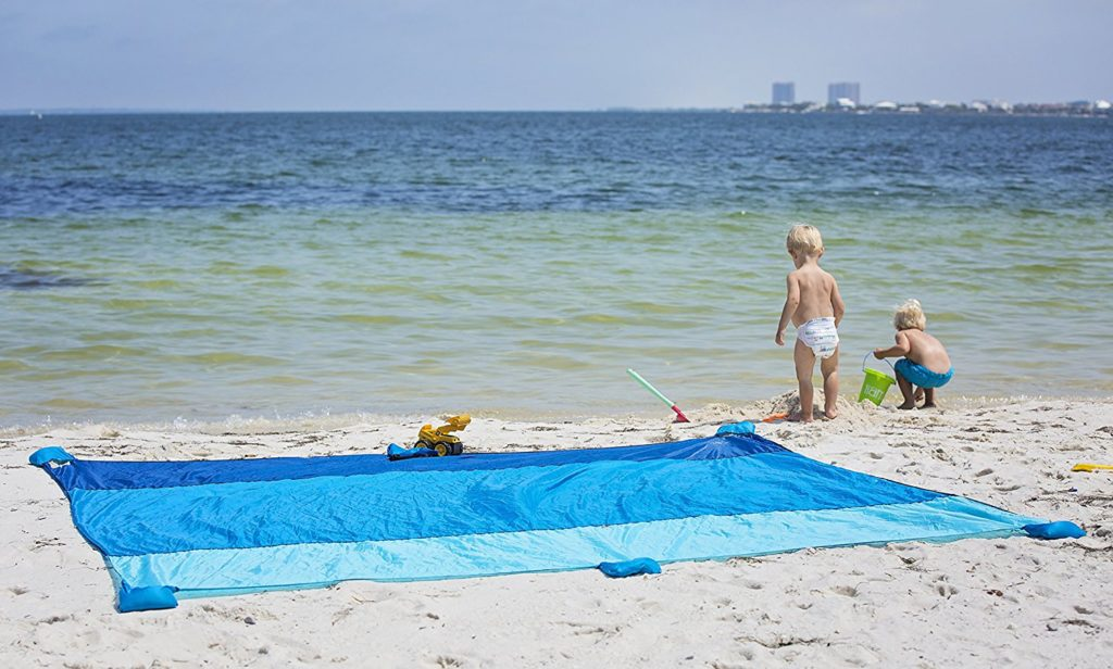 Beach Photo Of Mad Grit Oversized Beach Blanket
